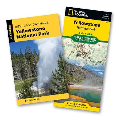 Best Easy Day Hiking Guide and Trail Map Bundle: Yellowstone National Park 4th Edition