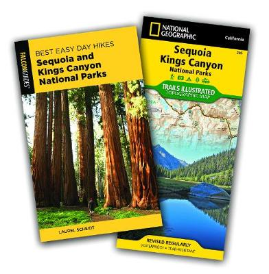 Best Easy Day Hiking Guide and Trail Map Bundle: Sequoia and Kings Canyon National Parks 3rd Edition