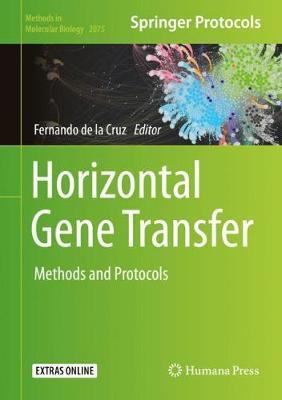 Horizontal Gene Transfer: Methods and Protocols 1st ed. 2020