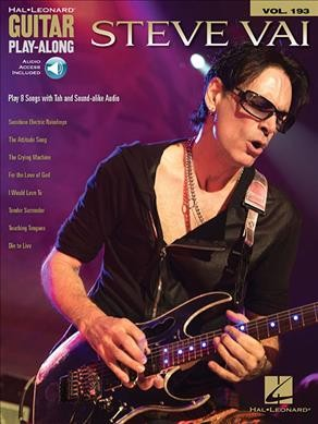 Guitar Play-Along Volume 193: Steve Vai (Book/Online Audio)