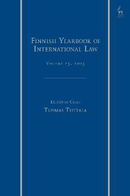 Finnish Yearbook of International Law, Volume 25, 2015