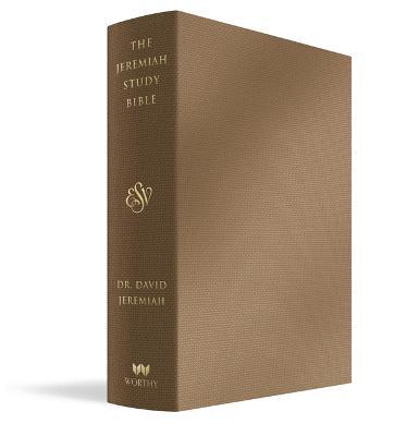 Jeremiah Study Bible, ESV, Bronze LeatherLuxe (R): What It Says. What It Means. What It Means for You.