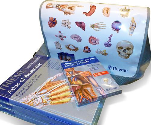 THIEME Atlas of Anatomy 3 Volume Set, Latin Nomenclature