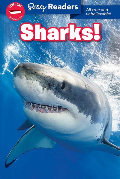 Ripley Readers Level1 Lib Edn Sharks! Library ed.