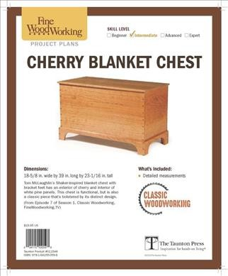 Cherry Blanket Chest from Classic Woodworking
