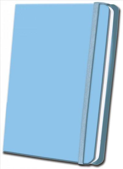 Sky Blue Satin Journal