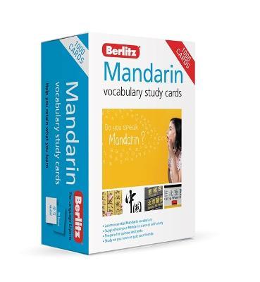 Berlitz Mandarin Study Cards (Language Flash Cards) 4th Revised edition