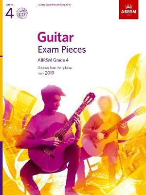 ABRSM: Guitar Exam Pieces From 2019 - Grade 4 (Book/CD)