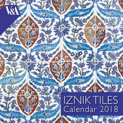 V&A Iznik Tiles - mini wall calendar 2018 (Art Calendar) New edition