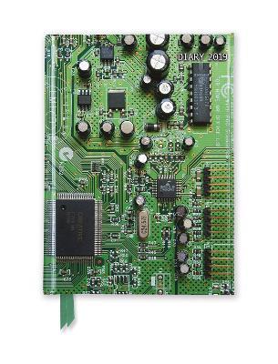 Green Circuit Board Pocket Diary 2019 New edition