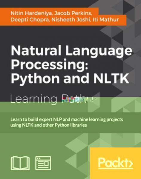 Natural Language Processing: Python and NLTK - E-grâmata | Krisostomus
