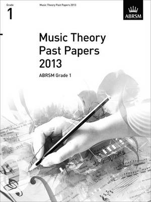 ABRSM Theory Of Music Exam 2013 Past Paper Grade 1