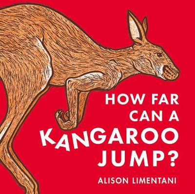 How far can a kangaroo jump?