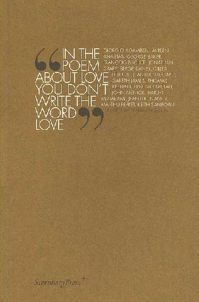 In The Poem About Love You Don`t Write The Word Love