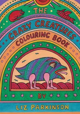 Crazy Creatures Colouring Book