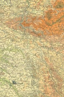 World War I Western Front Map - A Poetose Notebook / Journal / Diary (100   pages/50 sheets): A Poetose Notebook / Journal / Diary (100 pages/50 sheets)