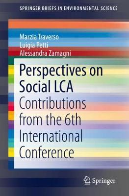Perspectives on Social LCA: Contributions from the 6th International Conference 1st ed. 2020