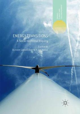 Energy Transitions: A Socio-technical Inquiry Softcover reprint of the original 1st ed. 2018