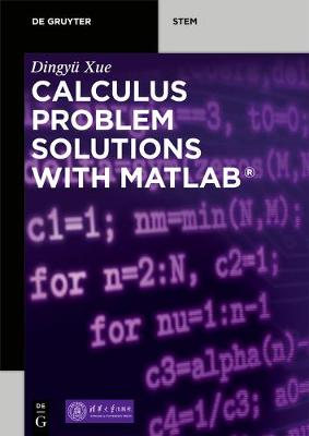 Calculus Problem Solutions with MATLAB (R)