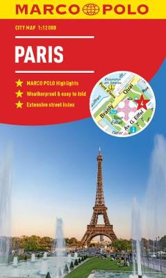 Paris Marco Polo City Map