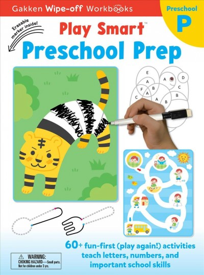 Play Smart WIPEOFF Preschool Prep