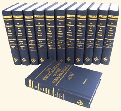 Encyclopedia of Pure Materia Medica: 12-Volume Set