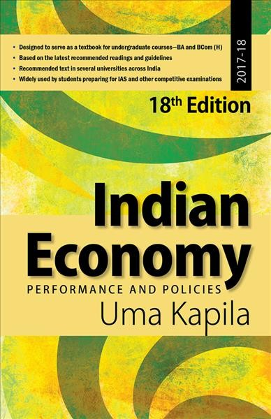 Indian Economy: Performance and Policies 18th Revised edition