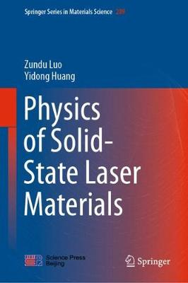 Physics of Solid-State Laser Materials 1st ed. 2020