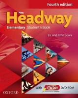 New Headway: Elementary A1-A2: Student's Book and iTutor Pack: The world's most trusted English course 4th Revised edition, Elementary level, Student Book and Digital Companion Pack