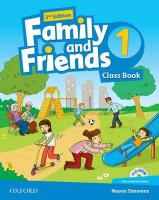 Family and Friends: Level 1: Class Book with Student MultiROM 2nd Revised edition, Level 1