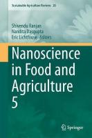 Nanoscience in Food and Agriculture 5 2017 1st ed. 2017
