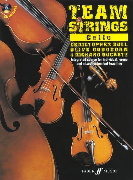 Team Strings: Cello (Book/CD)