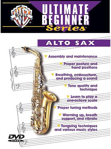 Ultimate Beginner: Alto Sax DVD