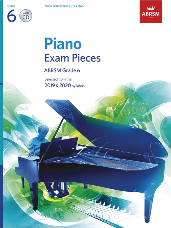 ABRSM: Piano Exam Pieces 2019-2020 - Grade 6 (Book/CD)
