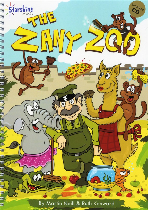 Martin Neill/Ruth Kenward: The Zany Zoo (Book/CD)