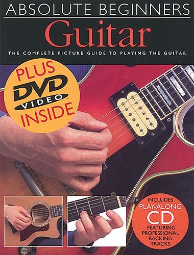 Absolute Beginners: Guitar (Book/CD/DVD)