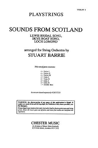 Playstrings No.10 Sounds From Scotland (Parts)