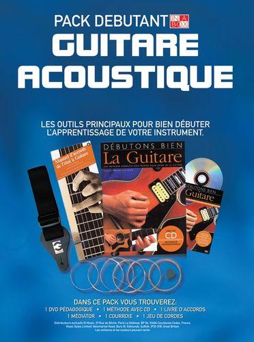 In A Box Pack Débutant: Guitare Acoustique