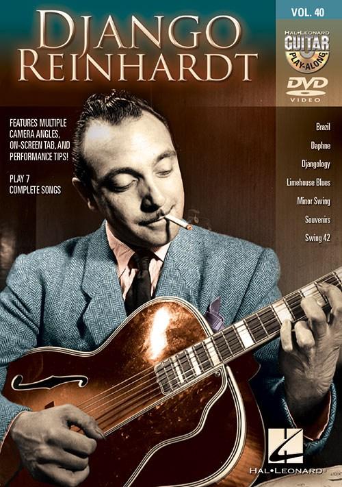 Guitar Play-Along DVD Volume 40: Django Reinhardt