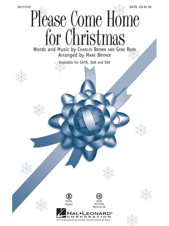 Cee Lo Green: Please Come Home For Christmas (Arr. Brymer) (SATB)