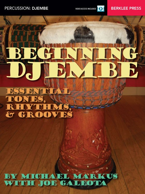 Michael Markus: Beginning Djembe (Book/Online Video)