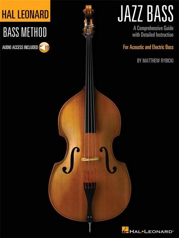 Hal Leonard Bass Method: Jazz Bass (Book/Online Audio)