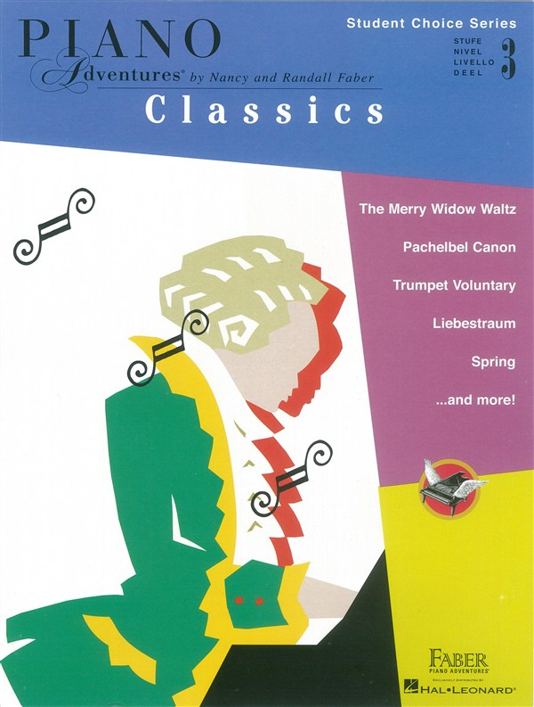 Faber Piano Adventures - Student Choice Series: Classics Level 3