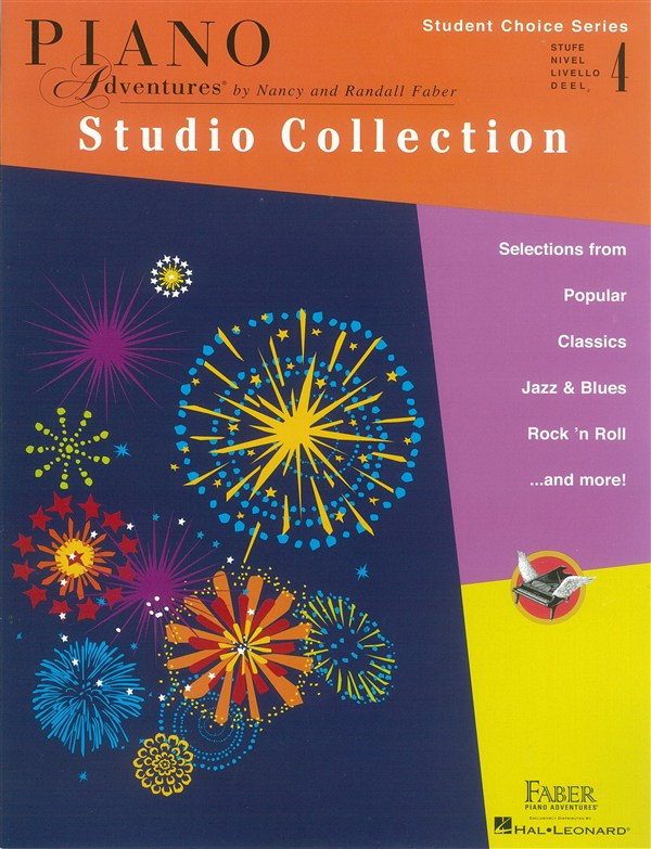 Faber Piano Adventures - Student Choice Series: Studio Collection Level 4