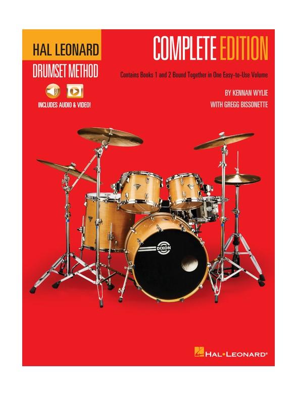 Hal Leonard Drumset Method - Complete Edition (Books 1 & 2)