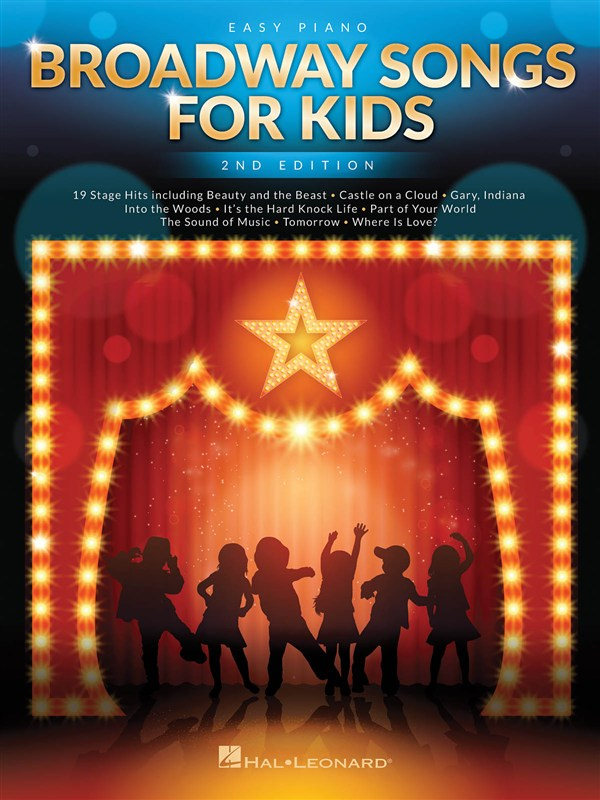Broadway Songs For Kids – 2nd Edition