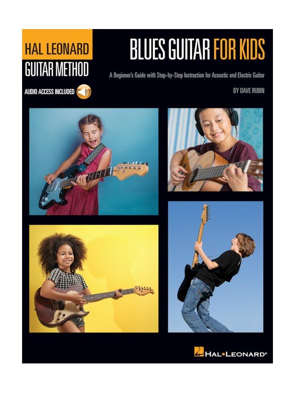 Hal Leonard Guitar Method: Blues Guitar For Kids (Book/Online Audio)