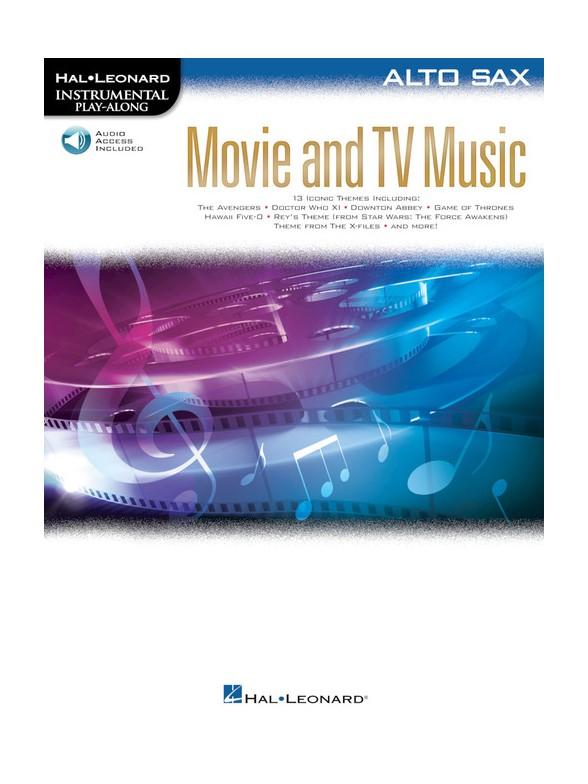 Movie and TV Music: Alto Saxophone