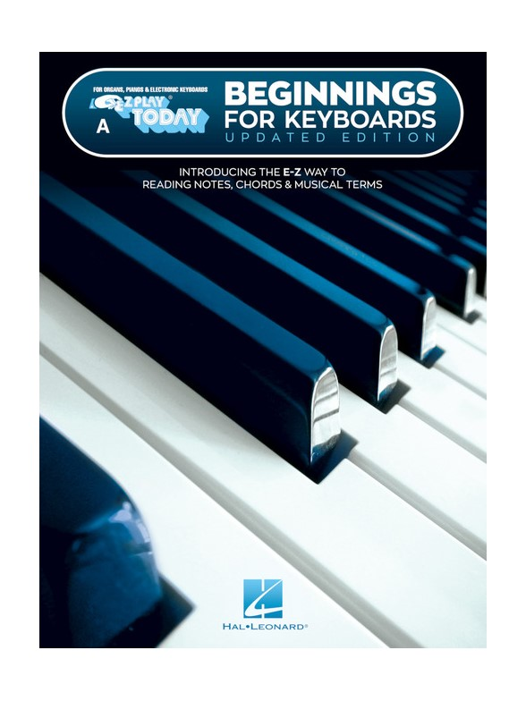 E-Z Play Today: Beginnings For Keyboards – Book A