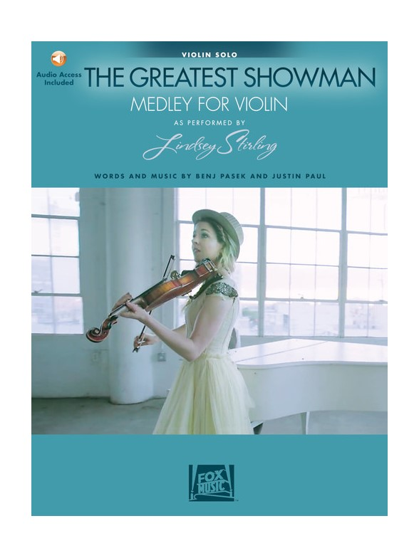 Arr. Lindsey Stirling: The Greatest Showman - Medley For Violin (Book/Online Audio)